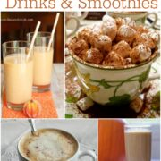 Fall Drinks and Smoothies