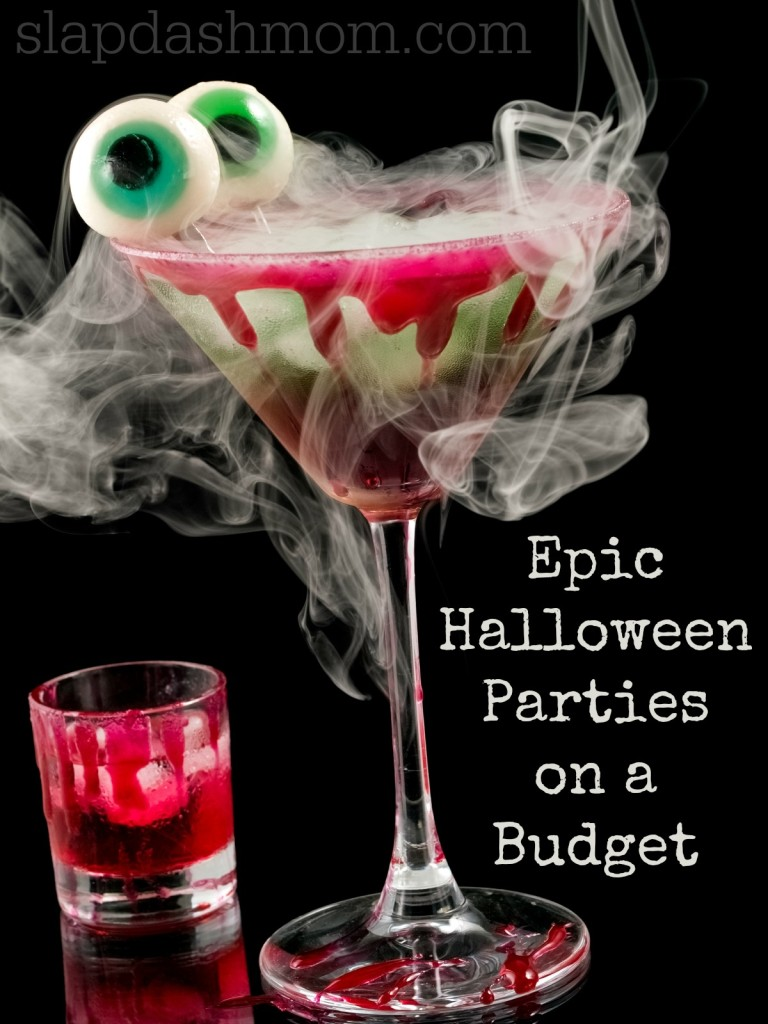 halloween party on a budget