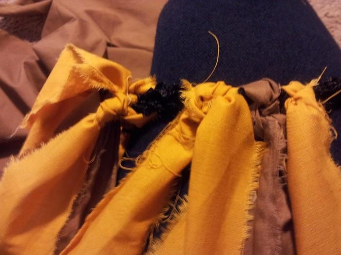 DIY Fabric Tutu Lion Costume