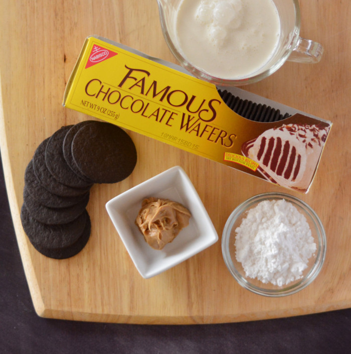 No Bake Chocolate Peanut Butter Icebox Cakes