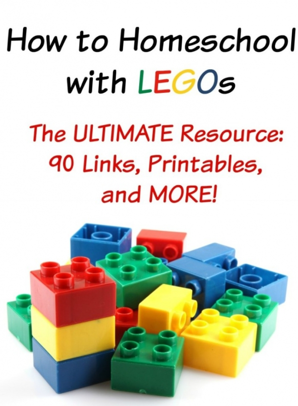 How to Homeschool With Legos