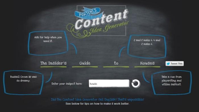 Blog Post Idea Generator