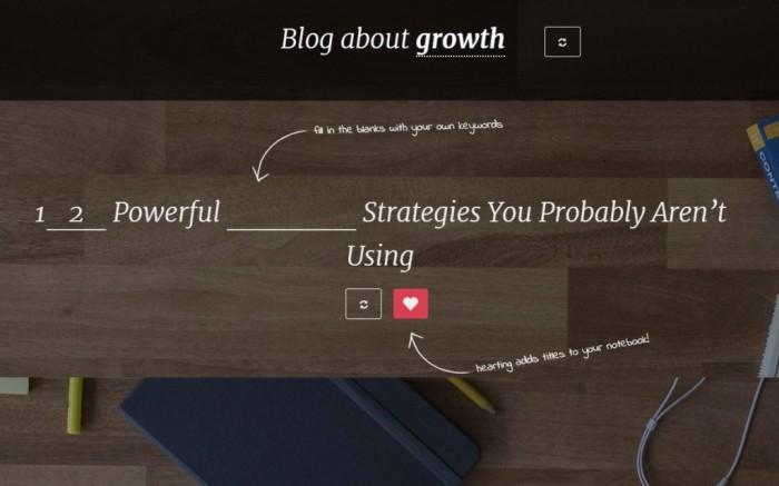 Blog Post Generators
