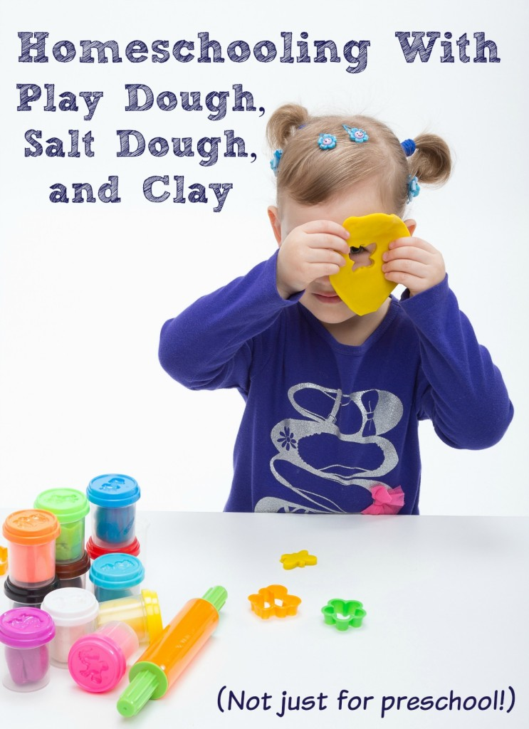 How to Homeschool With Play Dough