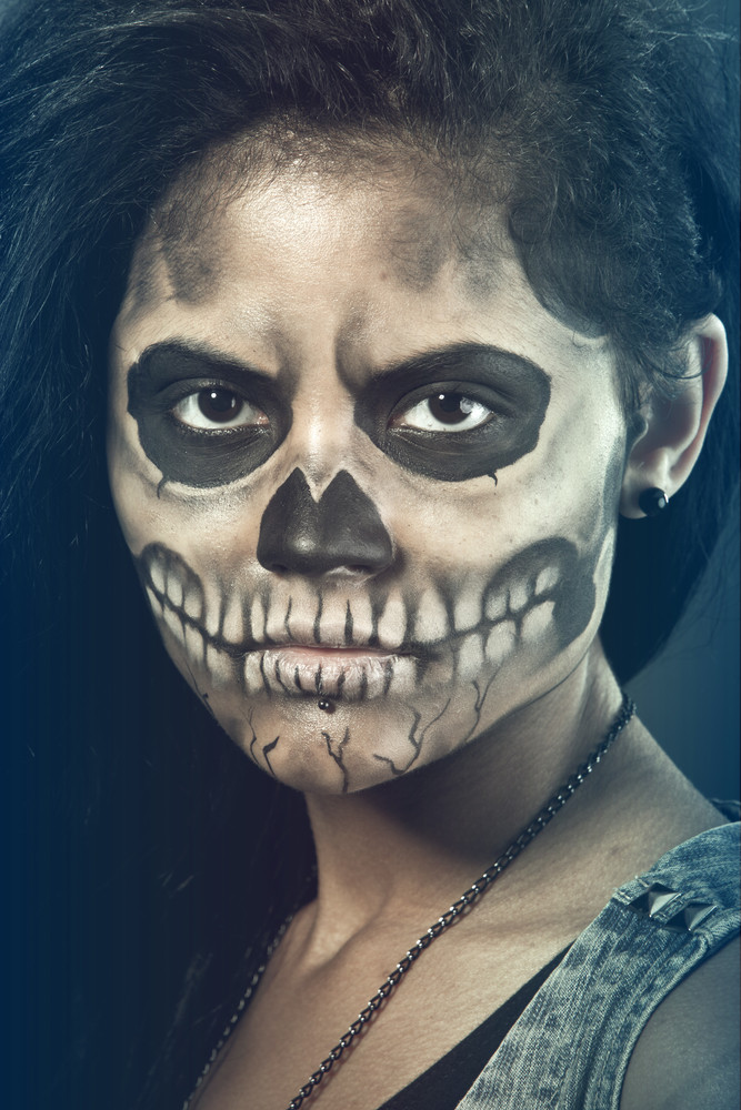 Sugar Skull Makeup Ideas and Tutorials