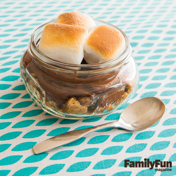Sweet and Toasty S'mores Parfait
