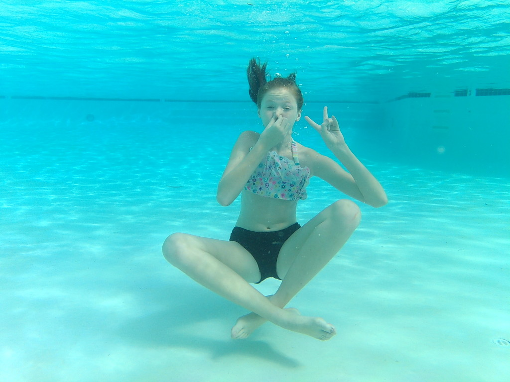 Underwater Photo Shoot with Nell