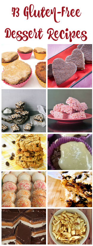 gluten free dessert recipes