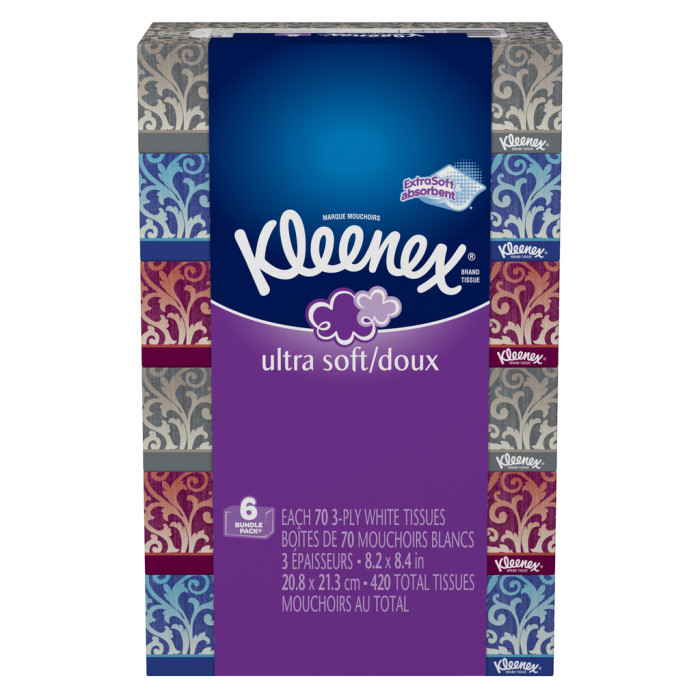 Kleenex Ultra Soft Tissues