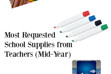 School Supplies Your Child's Class Needs Mid-Year
