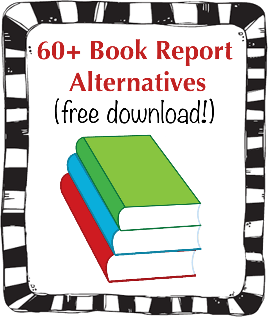 60+ Book Report Alternatives | Slap Dash Mom