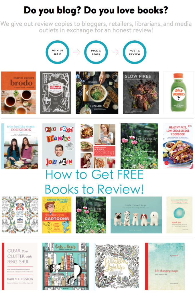 How to Get FREE Books to Review