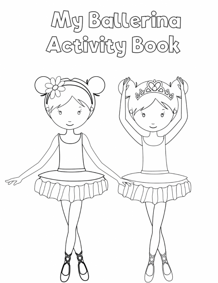 Free Printable Preschool Ballerina Workbook Slap Dash Mom