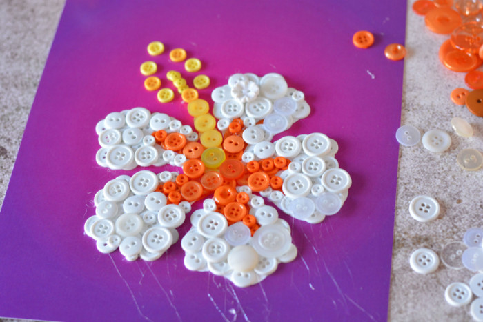 Flower Button Art Tutorial