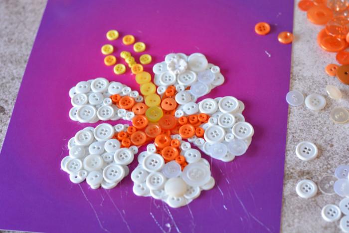 Flower Button Art Tutorial