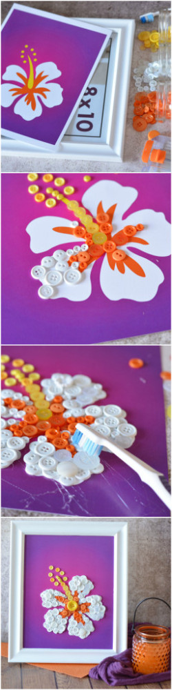 Mother's Day Flower Art DIY Super Easy!