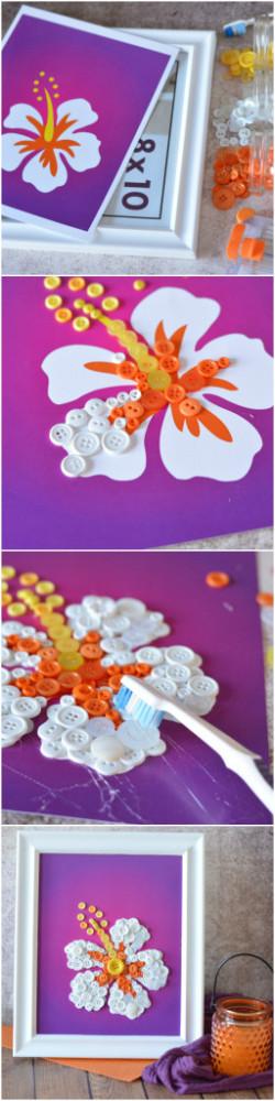 Mother's Day Flower Art DIY Super Easy!