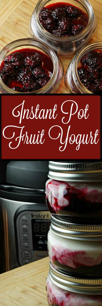 Instant Pot Yogurt with Fruit