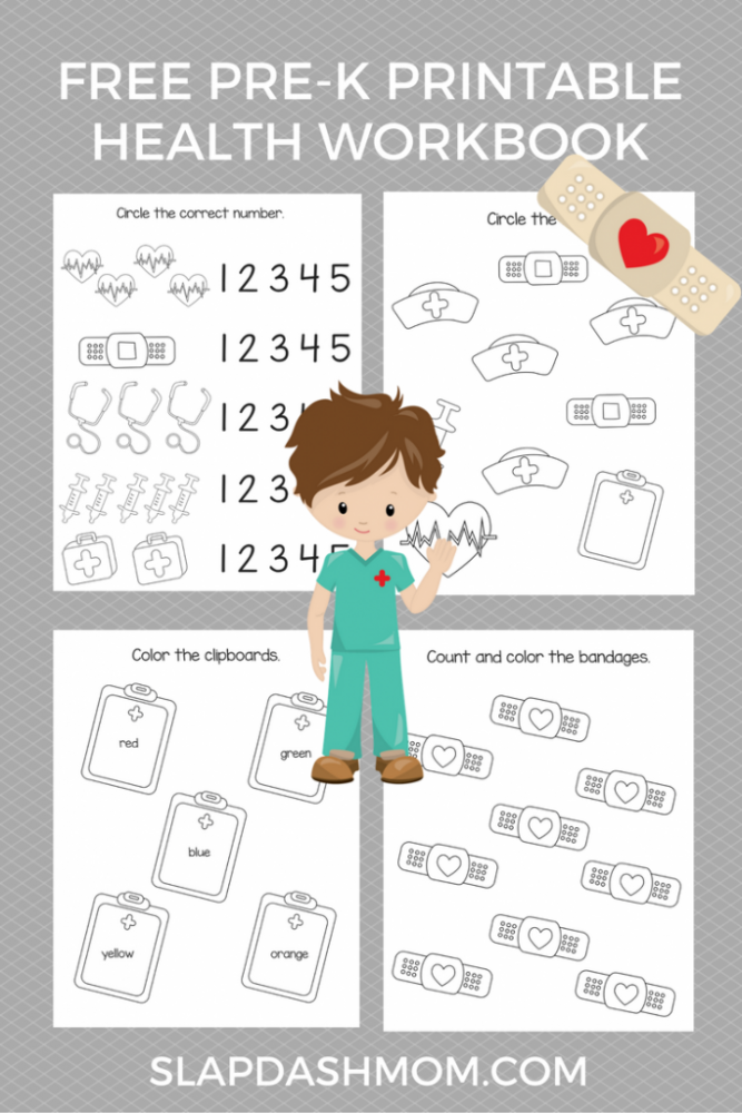 Free Preschool Health Printables