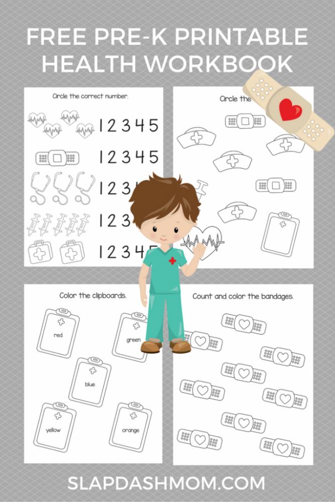 Free Preschool Health Printables