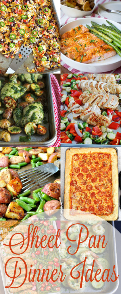 Sheet Pan Meals to Make Your Life Easier