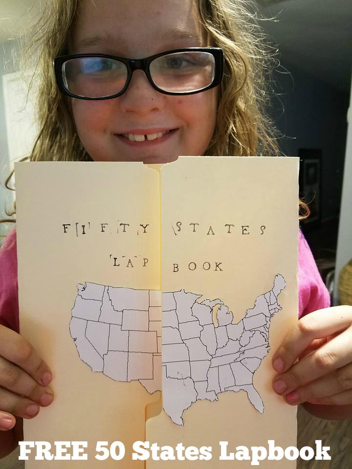 Free 50 States Lapbook Resources