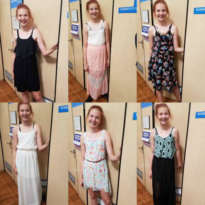8th Grade Promotion Dress Shopping