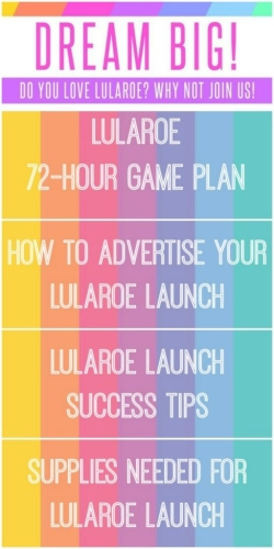 How To Have A Successful LuLaRoe Launch Slap Dash Mom