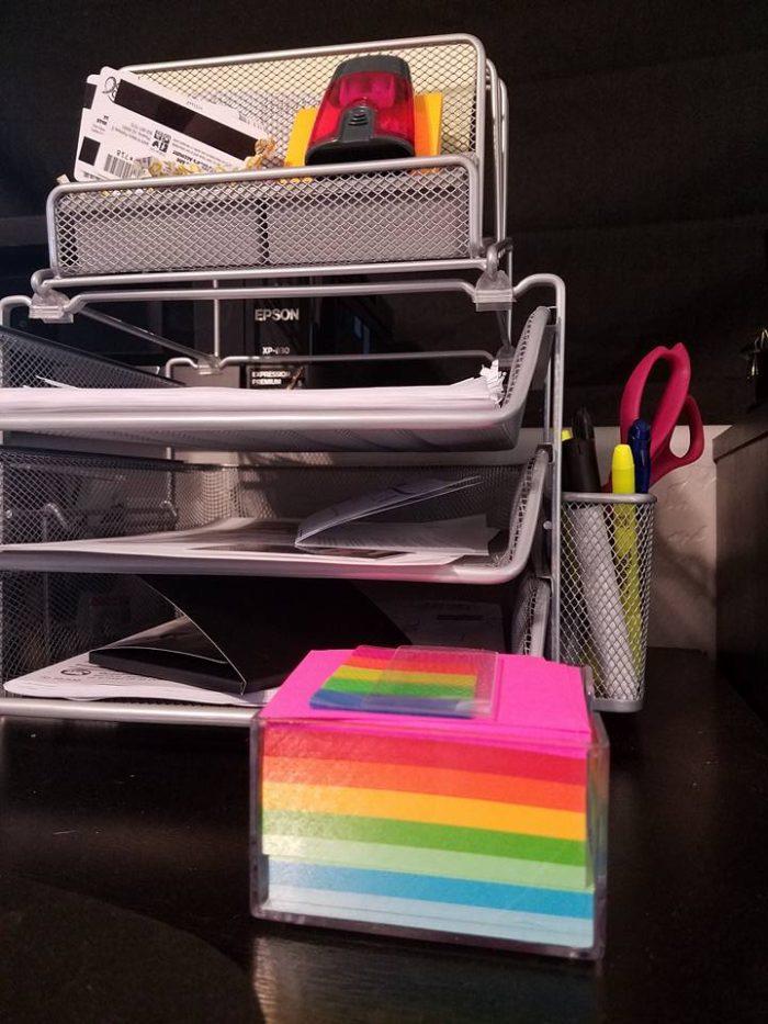 staples brand organizer