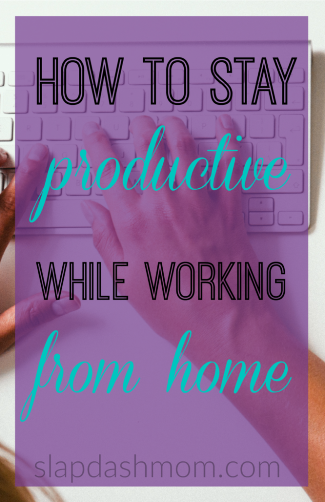 My List of 30 Ways to Increase Productivity While Working From Home