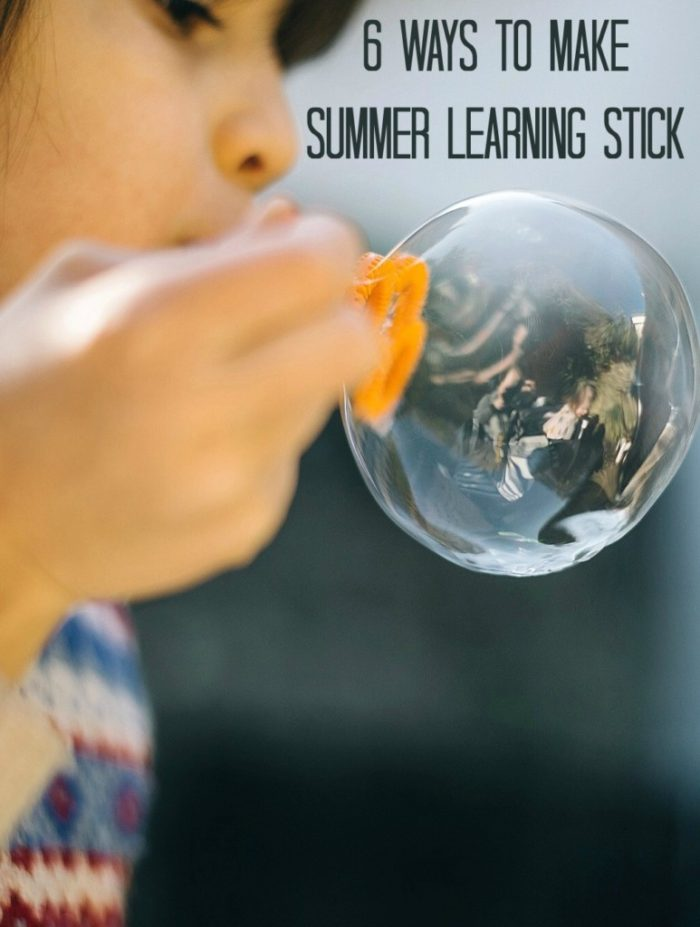 ways to Make Summer Learning Stick
