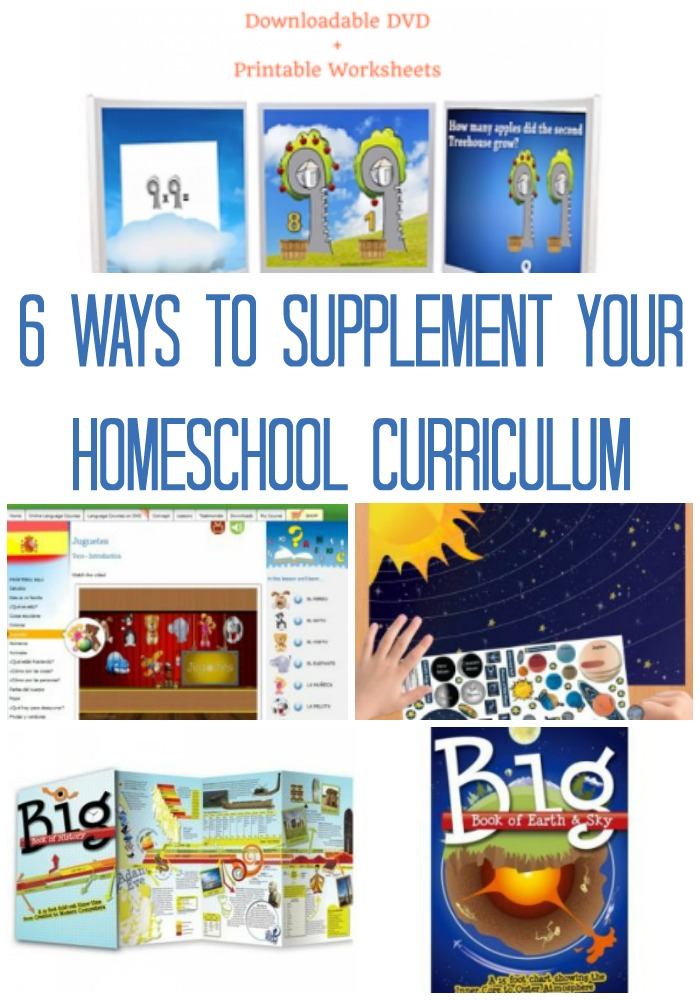 supplemental homeschool
