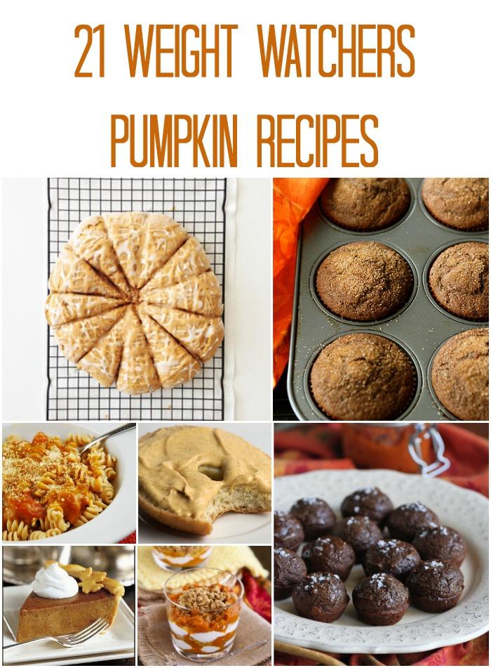 Easy Weight Watchers Pumpkin Recipes