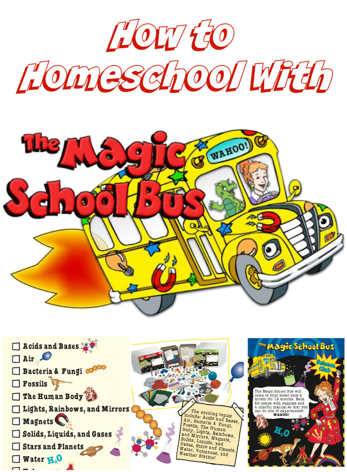 How to Homeschool With The Magic School Bus