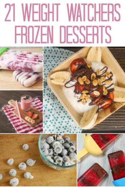 Weight Watchers Frozen Desserts