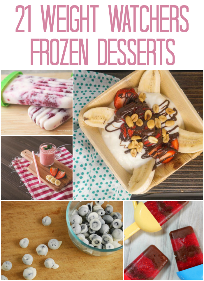 Weight Watchers Frozen Desserts