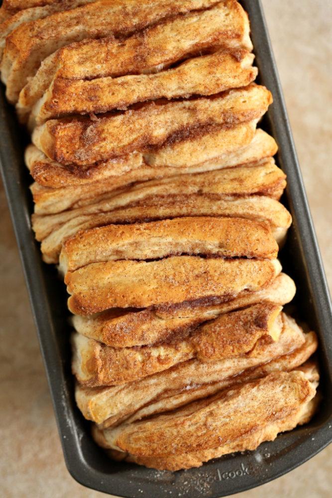 Easy Cinnamon Pull Apart Bread