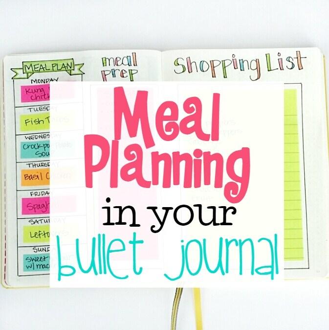 MealPlanningBulletJournal