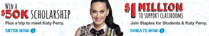 Katy Perry Staples