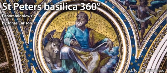 St. Peter's Basilica Virtual Tour