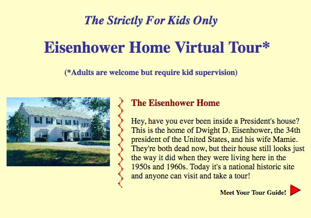 Eisenhower Home Virtual Tour