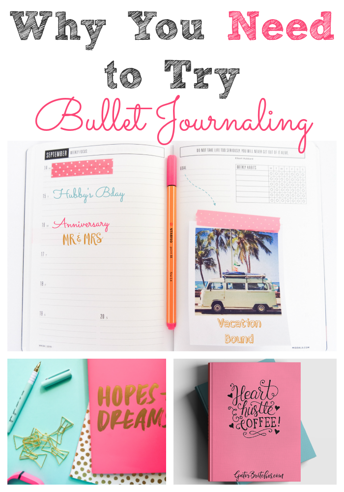 Why You Need To Try Bullet Journaling