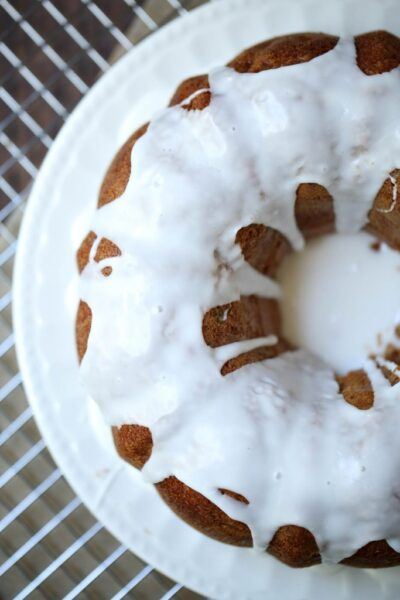 Weight Watchers Apple Bundt Cake