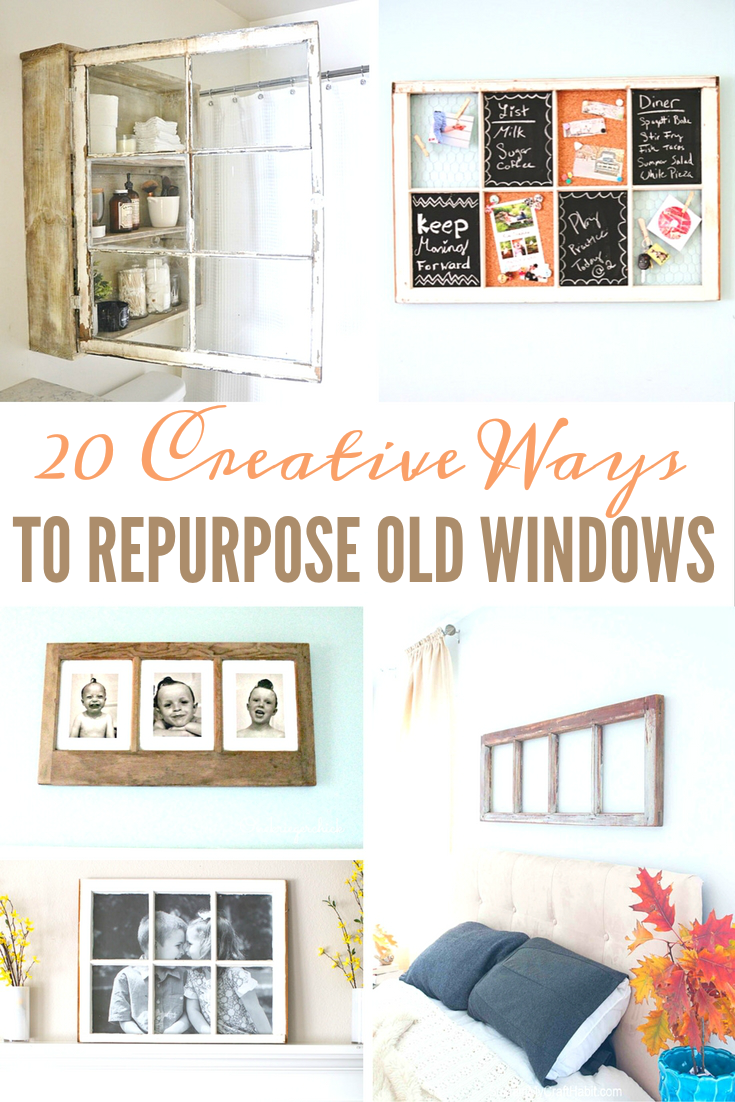 20 Creative Ways to Repurpose Old Windows