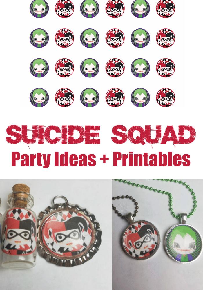 Suicide Squad Party Ideas