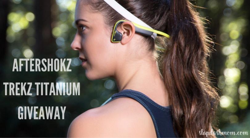 MUST HAVE Fitness Accessory: AfterShokz Trekz Titanium Wireless Headphones + GIVEAWAY!