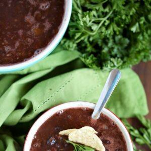 Weight Watchers Simple Black Bean Chili Recipe