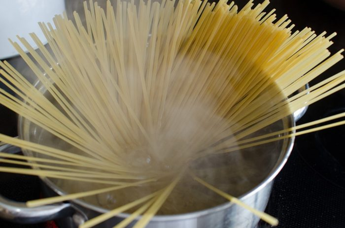 the trick to perfect spaghetti ... every time!