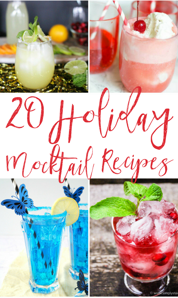 Holiday Mocktail Recipes for Kids