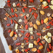 Goji Berry Chocolate Bark